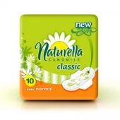 Naturella Classic Camomile Normal with wings 10 шт