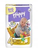 Bella Baby Happy maxi plus Подгузники гигиенические для детей 62 шт