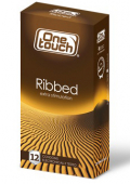 One Touch Ribbed Презервативы, 12 шт