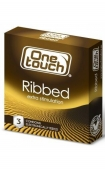 One Touch Ribbed Презервативы, 3 шт