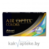 Линзы контактные AIR OPTIX COLORS (Blue)  0.00