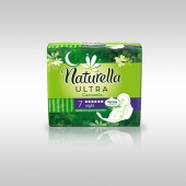 Naturella Ultra Camomile Night with wings(Нат.Ультра Кэм.Найт с крыл.) Аром.жен.гигиен.прокл. 7 шт